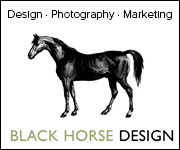 Black Horse Design (Gloucestershire Horse)